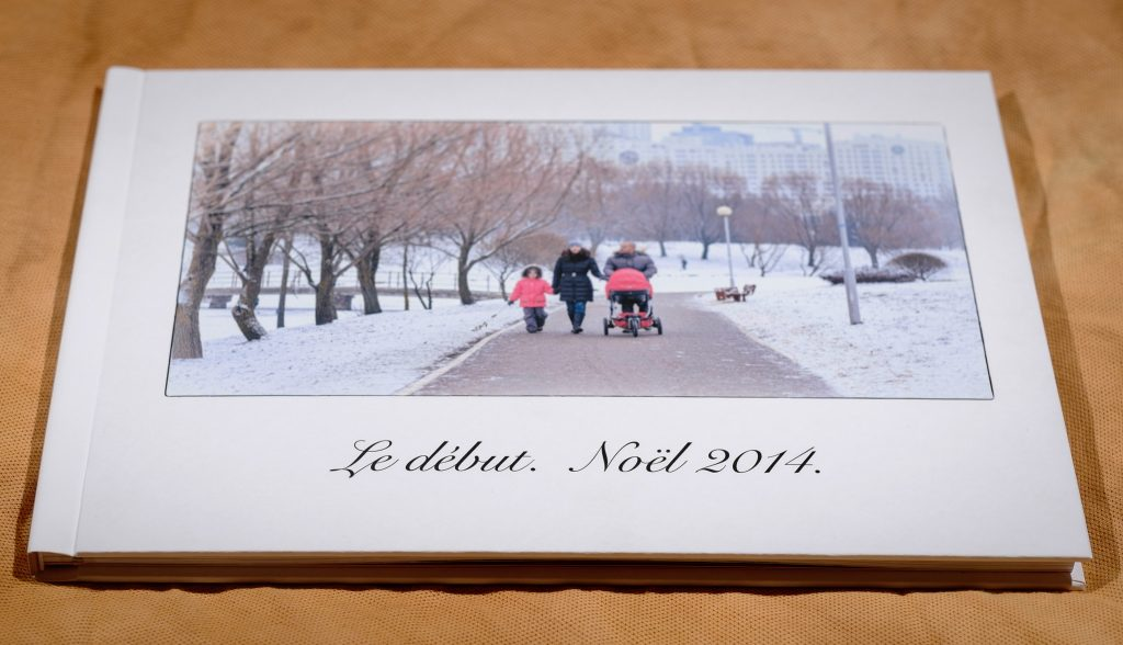 Coffee table style family album